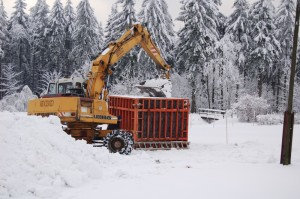 Bau des Blockes