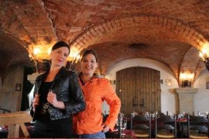 Mit Felixa Dollinger und Christina Rieht