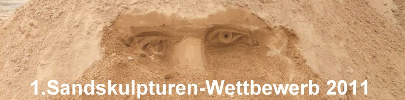 1. Sandskulpturen Wettbewerb im Erzgebirge