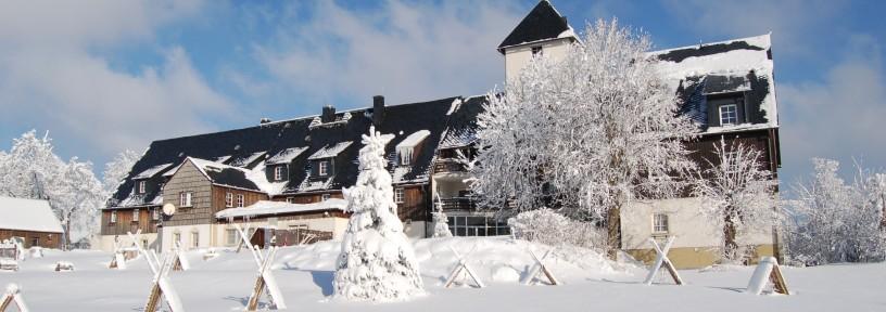 Winter im Zollhaus